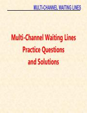 07S Multi Channel Waiting Lines.pdf