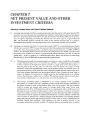 Ch 7 NPV and Other Investment Rules_1