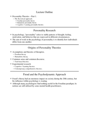GenPsych - Ch14 Personality1