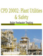 Chapter 6 Boiler Feedwater Treating.ppt