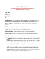 EDUC Lesson Plan Format with instructions.docx
