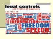 Study Guide on Legal Control and Freedom of Expressio