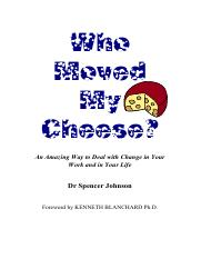 Who Moved My Cheese-PDF
