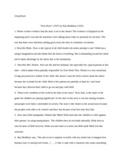 the veldt essay greg royer the veldt discussion questions  2 pages zero hour essay