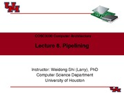 CompArch-Lec08-Pipelining