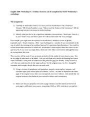 University essay introduction