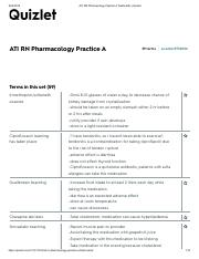 ATI RN Pharmacology Practice A Flashcards _ Quizlet.pdf