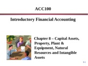 ACC100 Porter Chapter 8 - Break-Out Session - Student Copy