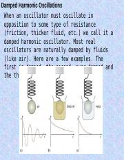 Damped and Forced Oscillations.ppt