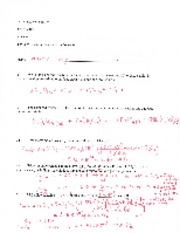 Answer Key Practice Exam 2A Intro Chem