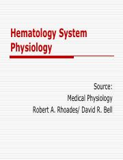 Hematology_System_Physiology_Physio_Lab_T