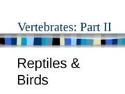 Vertebrates_Part_II