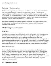 Sociology of Contraception Research Paper Starter - eNotes.pdf
