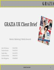 GRAZIA Client Brief