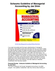 Schaums_Guideline_of_Managerial_Accounting_by_Jae_Shim_-_5_Star_Review