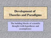 Topic04    -Theories_Paradigms