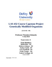 las 432 tech society and culture midterm View solution to the question: las 432 tech, society and culture - devry (entire course week 1 - 8.
