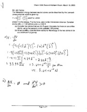 Midterm Exam Solutions 5