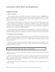 Organic Lab Safety Rules and Regulations.pdf
