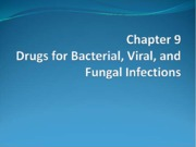 Drugs for Bacterial, Viral, and Fungal Infections