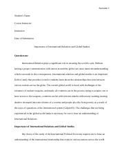 Admission Essay International Relations and Global Studies № 164740G.docx