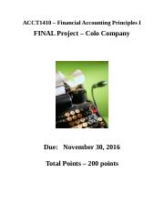 FAP I - Final Project Information (1)
