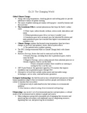 anthro notes ch.23