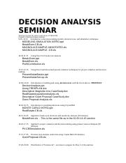 DECISION ANALYSIS SEMINAR-MATERIALS.doc