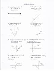 MATH 1023 Section 3 Notes