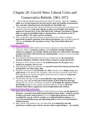 Chapter28UncivilWarsLiberalCrisisandConservativeRebirth1961-1972.docx