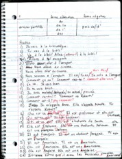 FRN 120 p2 Class Lecture Notes