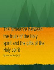 Fruit and gift of the spirit.pptx