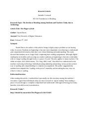 The plague of tl dr- Article Review.docx
