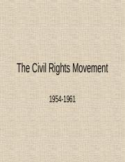 Civil Rights #2 1954-1963.ppt