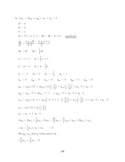 Differential Equations Lecture Work Solutions 206