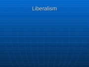 Liberalism and Nationalism