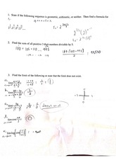 precalc quiz on limits