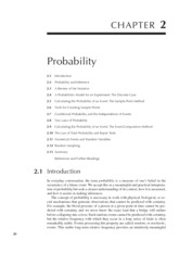 text book Chapter 2 Probability