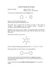 Quick Overview of Aromatic Compounds