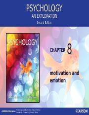 Chapter 8 Introductory Psychology F13 for posting