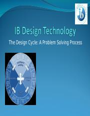 Day 14 - IB Design Technology.ppt