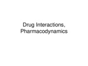 Drug+Interactions+Pharmacodynamics