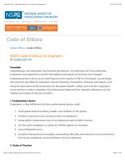 Code of Ethics | National Society of Professional Engineers.pdf