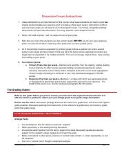 Discussion Forum Instructions and Rubric.pdf