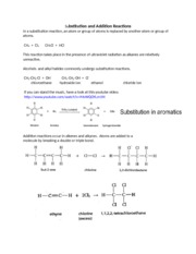 Substitution+and+Addition+Reactions
