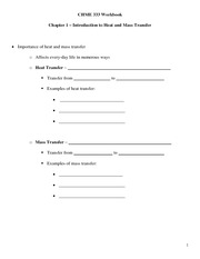 CHME 333 Workbook Handouts - Chapter 1