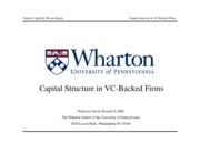 05 - VC Capital Structure