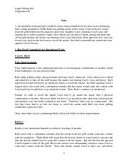 Legal Writing 604, Assignment #2.docx