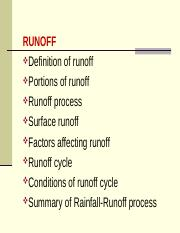 8-Runoff and Factors Affecting .....ppt