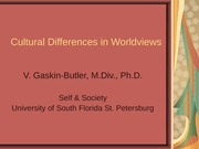 Cultural Differences in Worldviews-1